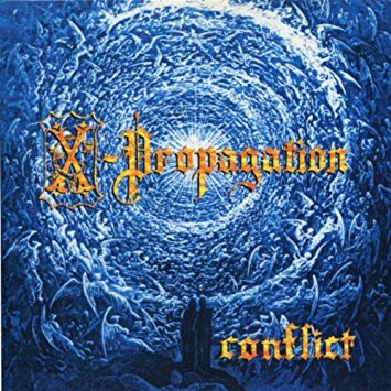 X-Propagation - Conflict (CD) - Christian Rock, Christian Metal