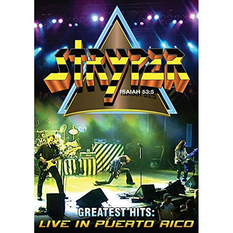 Stryper - Greatest Hits Live in Puerto Rico (DVD)