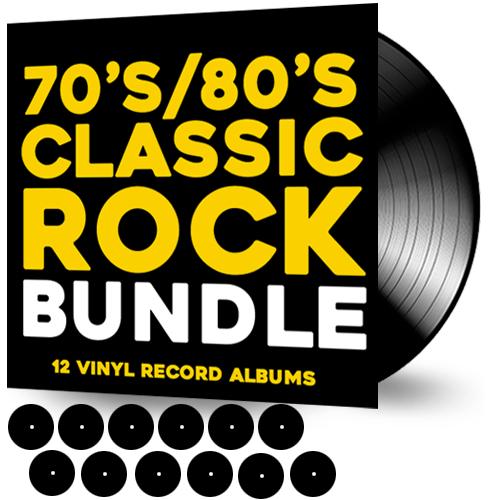 80'S ULTIMATE CLASSIC ROCK BUNDLE ***12 VINYL RECORDS + FREE SHIPPING - Christian Rock, Christian Metal