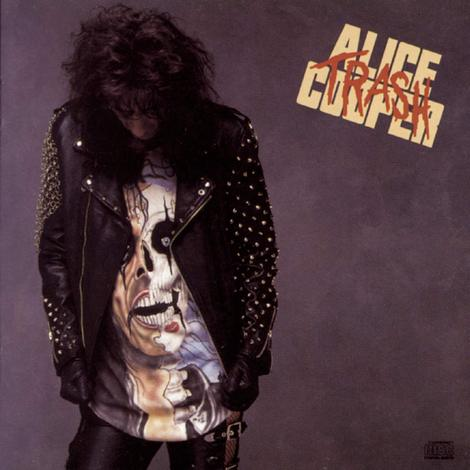ALICE COOPER - TRASH (*NEW-CD, 1989, Epic) Amazing classic rock!