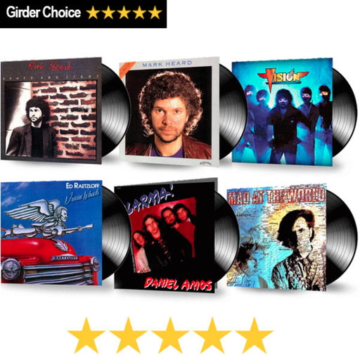 80's BUNDLE OF 6 - Christian Rock, Christian Metal