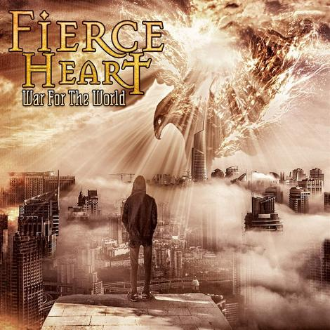 FIERCE HEART - WAR FOR THE WORLD (*NEW-CD, 2021) Massive hard rock from Rex Carroll of Whitecross