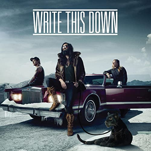 Write This Down (CD)