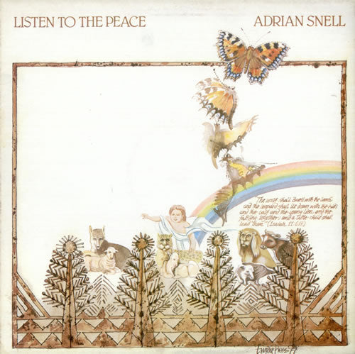 Adrian Snell - Listen To The Peace (Vinyl) - Christian Rock, Christian Metal