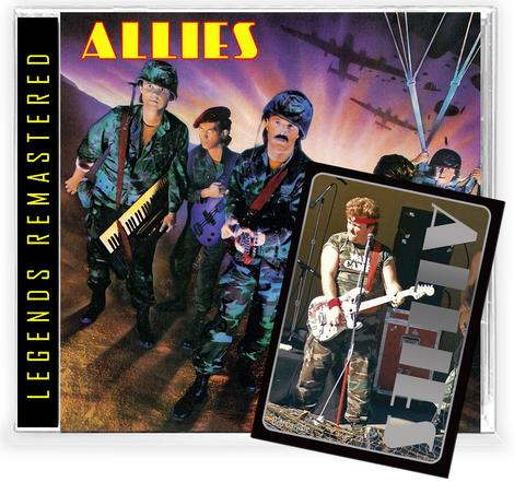 ALLIES - ALLIES + Trading Card (*NEW-CD, 2021, Retroactive)