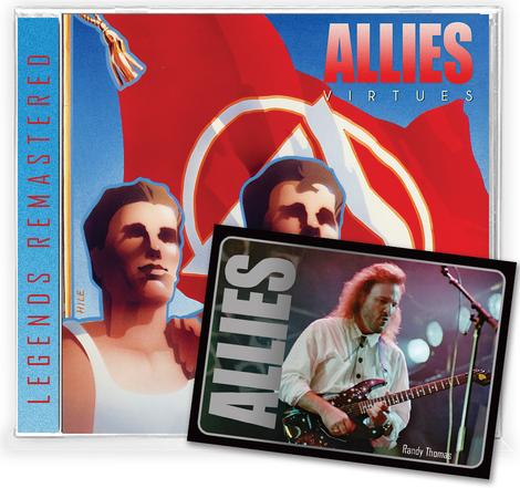 ALLIES - VIRTUES + Trading Card (*NEW-CD, 2021, Retroactive)