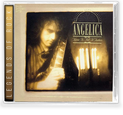 Angelica - Time Is All It Takes (CD) REMASTERED 2020 GIRDER RECORDS - Christian Rock, Christian Metal