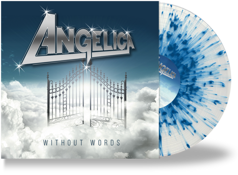 ANGELICA - WITHOUT WORDS (CLEAR w/BLUE SPLATTER VINYL)