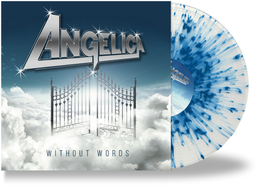 ANGELICA - WITHOUT WORDS (CLEAR w/BLUE SPLATTER VINYL) - Christian Rock, Christian Metal