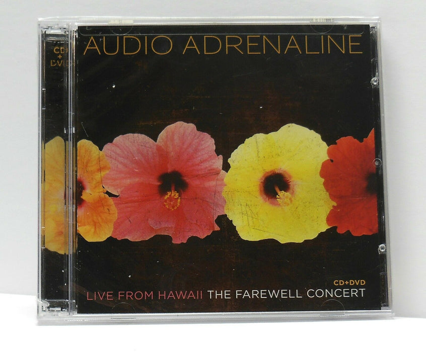 Audio Adrenaline - Live From Hawaii The Farewell Concert (CD) cd-dvd - Christian Rock, Christian Metal