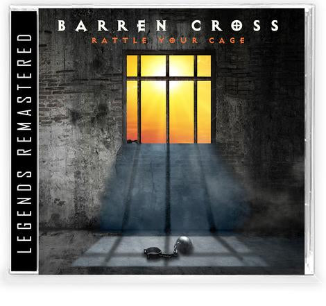 BARREN CROSS - RATTLE YOUR CAGE + Trading Card (*NEW-CD, 2021, Retroactive)