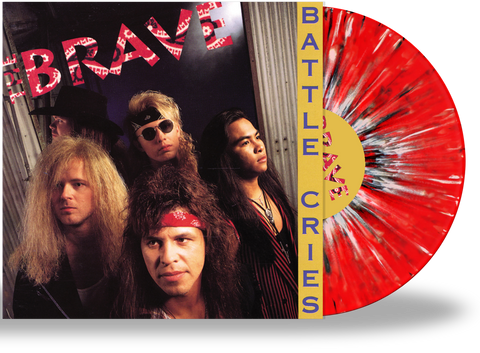 THE BRAVE - BATTLE CIRES (RED, BLACK, WHITE SPLATTER VINYL w/2-SIDED PRINTED SLEEVE