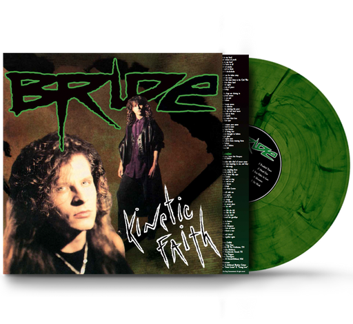 Bride - Kinetic Faith (Vinyl) Remastered, Green Colored Swirl Vinyl, 2021 Girder Records