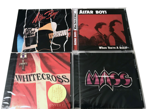 80's Classic Christian Rock CDs *(FREE SHIPPING) WHITECROSS, ALTAR BOYS, MASS