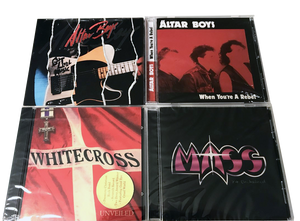 80s Classic Christian Rock CDs *(FREE SHIPPING) WHITECROSS, ALTAR BOYS, MASS