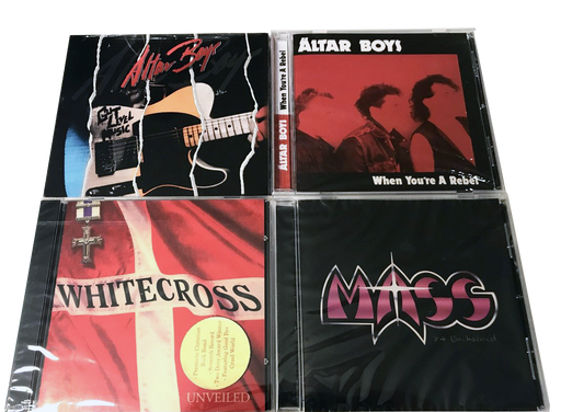 80s Classic Christian Rock CDs *(FREE SHIPPING) WHITECROSS, ALTAR BOYS, MASS - Christian Rock, Christian Metal