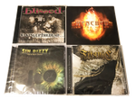 4 CHRISTIAN CLASSIC METAL CDs *BLISSED, TITANIC, MENCHEN, SIN DIZZY.  FOR STRYPER FANS. ROBERT SWEET OZ FOX