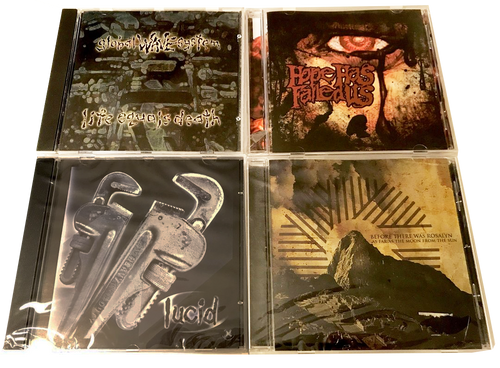 4 CHRISTIAN ROCK CDS - *(FREE SHIPPING) LUCID, GLOBAL WAVE SYSTEM BEFORE THERE WAS ROSLYN. XIAN HARDCORE