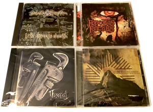 4 CHRISTIAN ROCK CDS - * LUCID, GLOBAL WAVE SYSTEM BEFORE THERE WAS ROSLYN. XIAN HARDCORE