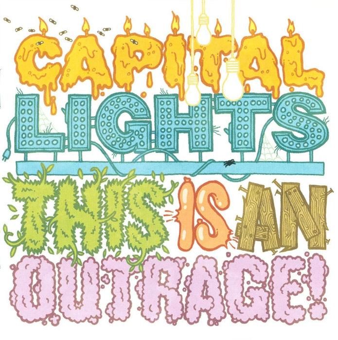 Capital Lights - This Is an Outrage (CD) - Christian Rock, Christian Metal