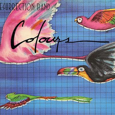 RESURRECTION BAND - COLOURS  (CD) 2017 - girdermusic.com