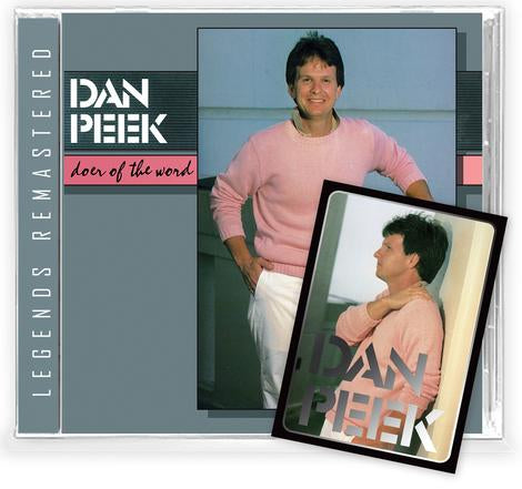 DAN PEEK - DOER OF THE WORD + 2 Bonus + Trading Card (*NEW-CD, 2021 Retroactive) 70's Rock Band AMERICA member!