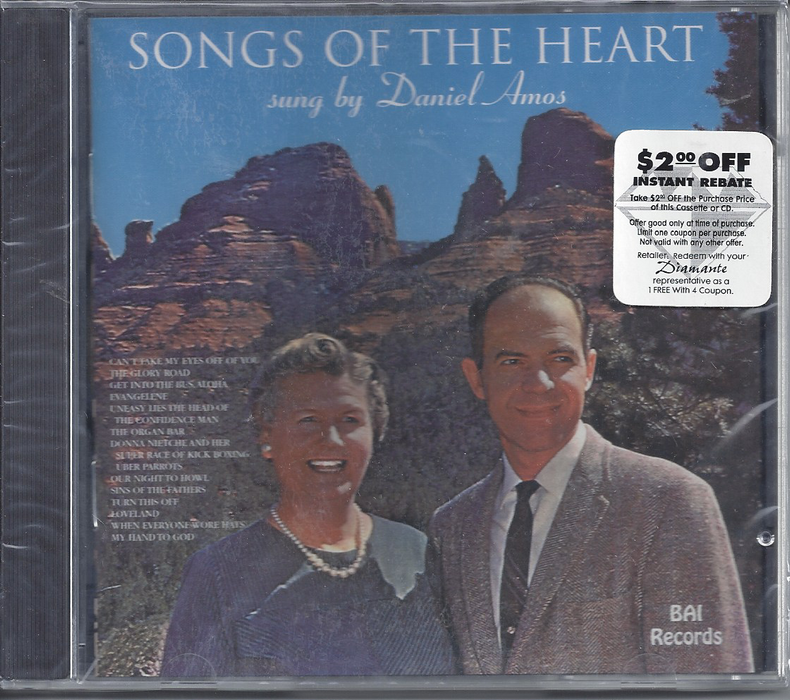 Daniel Amos - Songs Of The Heart (CD) - Christian Rock, Christian Metal
