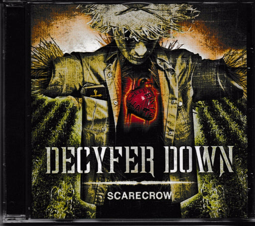 Decyfer Down - Scarecrow (CD) - Christian Rock, Christian Metal