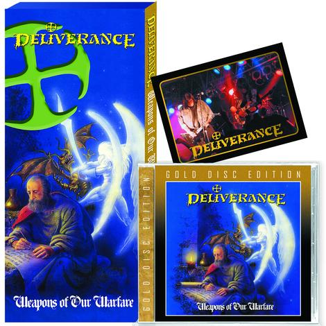 DELIVERANCE - WEAPONS OF OUR WARFARE + 8 Bonus + TRADING CARD (*NEW-CD, CLASSIC LONG BOX - GOLD DISC EDITION) LAST COPIES!!!