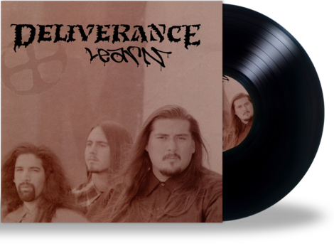 DELIVERANCE - LEARN (*NEW-BLACK VINYL, 2020, Retroactive - Christian Rock, Christian Metal