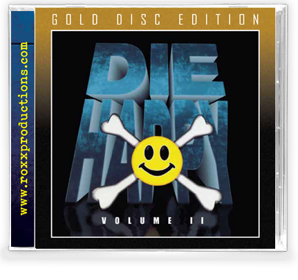 Die Happy - Volume 2 (Gold Disc CD) - Christian Rock, Christian Metal