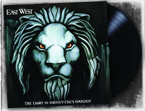 East West - Light In Guinivere's Garden (Black LP) - Christian Rock, Christian Metal