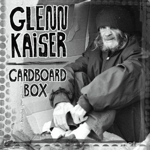 Glenn Kaiser - Cardboard Box (CD) Rez Band Frontman, Blues