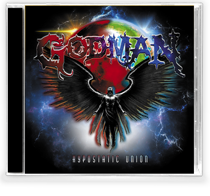 GODMAN - HYPOSTATIC UNION (NEW-CD, 2020) Sacred Warrior/Deny the Fallen - Christian Rock, Christian Metal