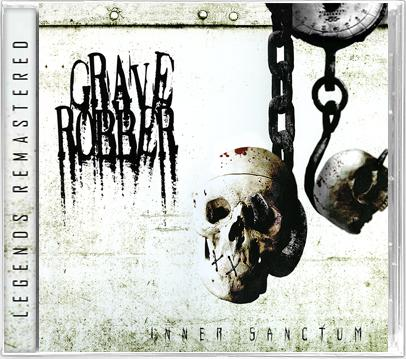GRAVE ROBBER - INNER SANCTUM (*NEW-CD, 2020, Retroactive) ***Remastered + 12 Page Booklet + Jewel Case - Christian Rock, Christian Metal