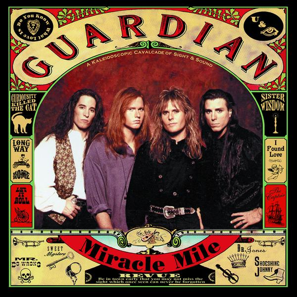 GUARDIAN - MIRACLE MILE (*NEW-GOLD DISC EDITION-CD, 2020 - Christian Rock, Christian Metal