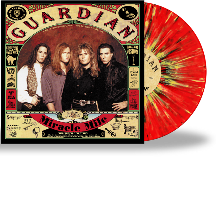 "GUARDIAN - MIRACLE MILE (*NEW-12"" Splatter Vinyl + Black 7"" Vinyl , 2020, Retroactive Records)"