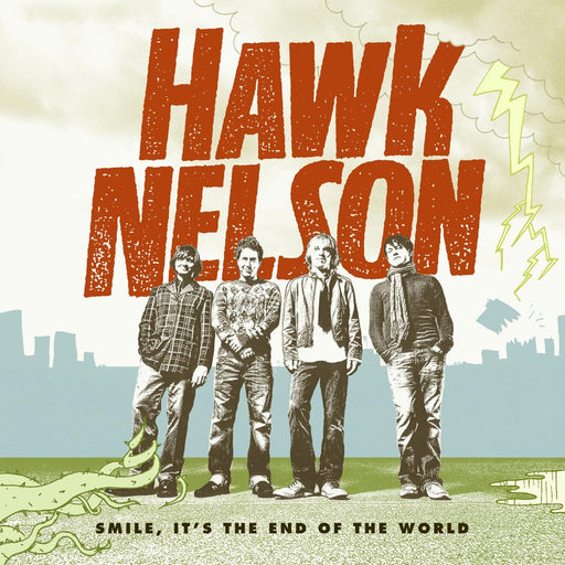 Hawk Nelson - Smile Its the End Of The World (CD) - Christian Rock, Christian Metal