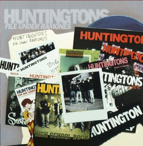 Huntingtons - File Under Ramones (CD) - Christian Rock, Christian Metal