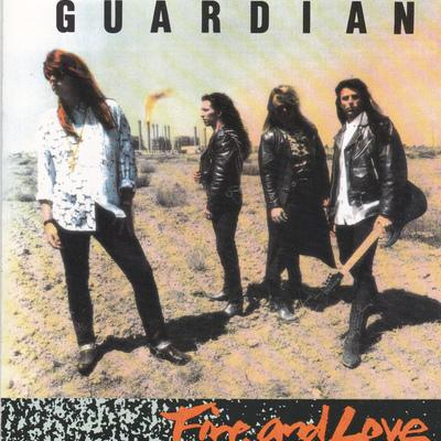 GUARDIAN - FIRE & LOVE (*Used-CD, 1990, Pakaderm) Original Issue - Christian Rock, Christian Metal