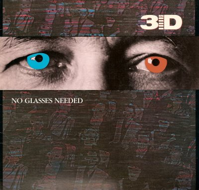 In 3D - No Glasses Needed (Vinyl) 1985 REFUGE - Christian Rock, Christian Metal