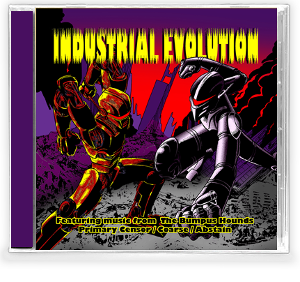 INDUSTRIAL EVOLUTION (NEW-2 CD Set) Rare 90's Industrial Thrash - Christian Rock, Christian Metal