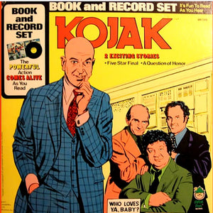 Peter Pan Records- Kojak- Five Star Final and A Question of Honor (Vinyl)
