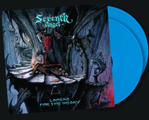 SEVENTH ANGEL - LAMENT FOR THE WEARY (Legends Remastered) Double Blue Vinyl, 2018, Retroactive Records - Christian Rock, Christian Metal