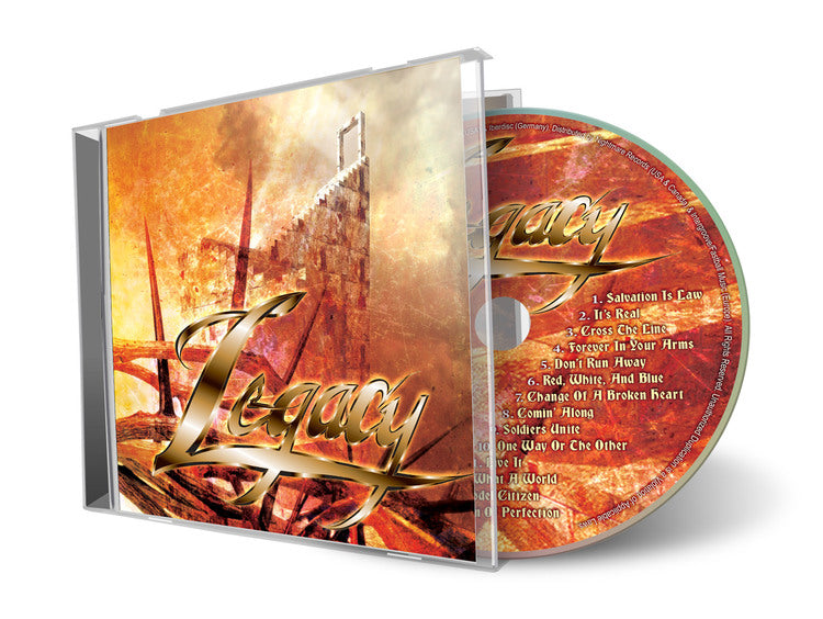 Legacy (2010 CD) 1988 Classic Christian Metal