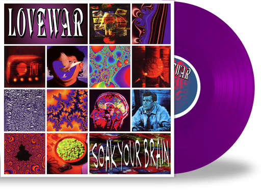 LOVEWAR - SOAK YOUR BRAIN (Limited Run Vinyl) 150 Transparent Purple Vinyl