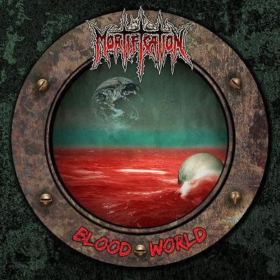 MORTIFICATION - BLOOD WORLD (*NEW-BLACK VINYL, 2017, Soundmass Records) - Christian Rock, Christian Metal