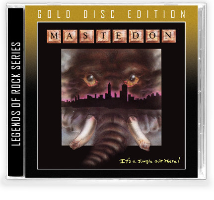 Mastedon - It's a Jungle Out There (GOLD DISC CD) - Christian Rock, Christian Metal