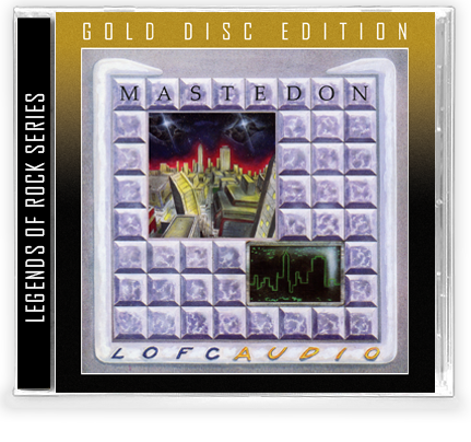 Mastedon - Lofcaudio (Gold Disc CD) - Christian Rock, Christian Metal