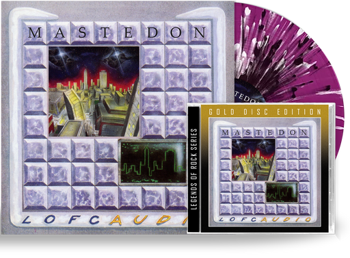Mastedon - Lofcaudio Bundle (Limited 200 Run Splatter Vinyl + CD) - Christian Rock, Christian Metal